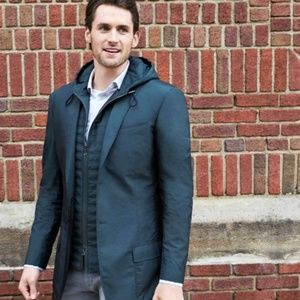 Banana Republic Jacket with Attached Hooded Vest